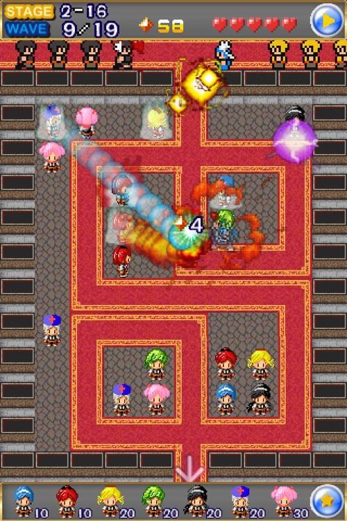 Magical Girl TD screenshot-3
