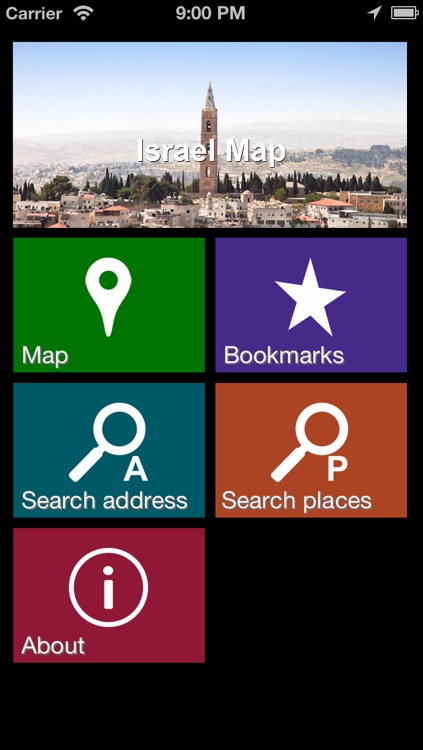 Offline Israel Map - World Offline Maps