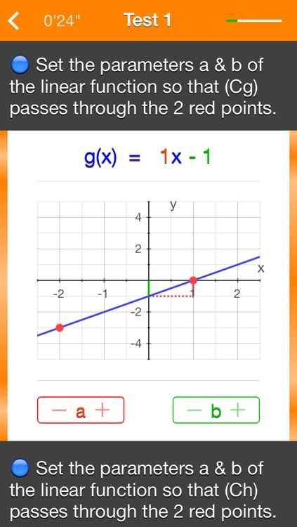 Functions f(x) = ax+b screenshot-4
