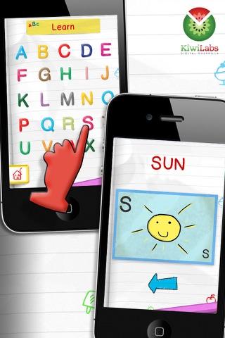 Screenshot of Impara l'Inglese Giocando - Alfabeto Parlante Free2