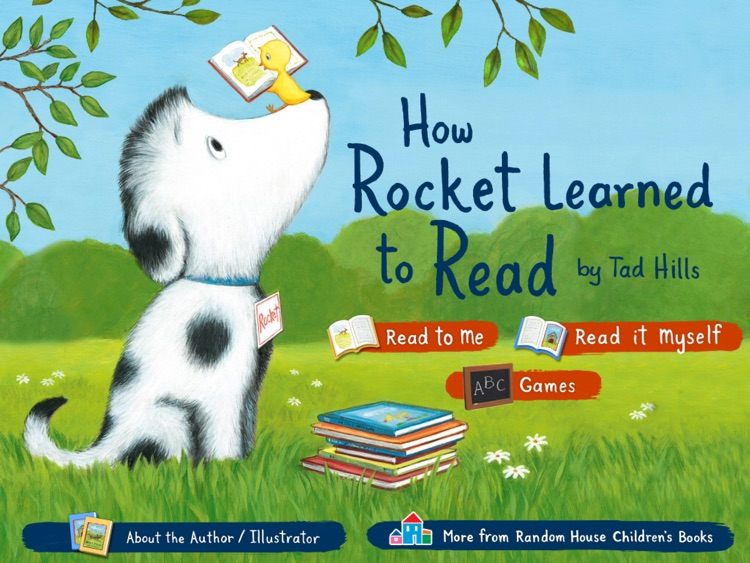 How Rocket Learned to Read – by Tad Hills