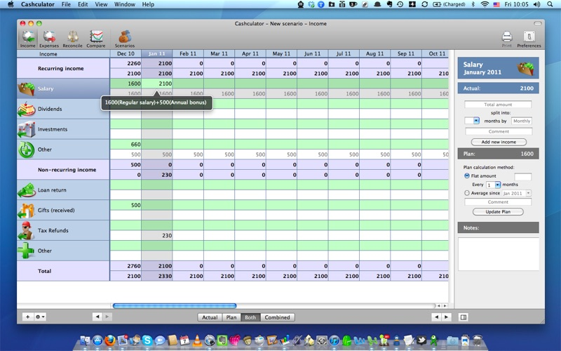 Cashculator Free 現金計算器 for Mac