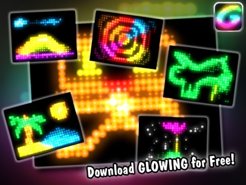 Glowing - Create glow animations-ipad-3