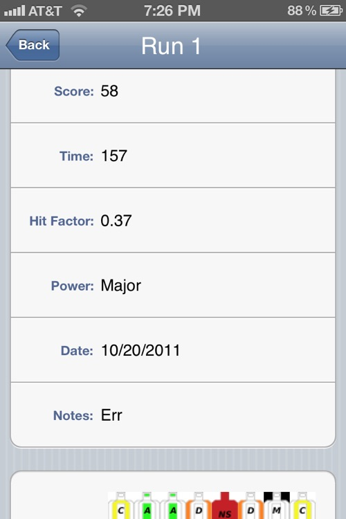 USPSA Score Keeper screenshot-3