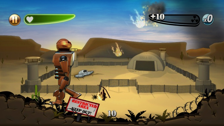 Robot Rampage screenshot-2