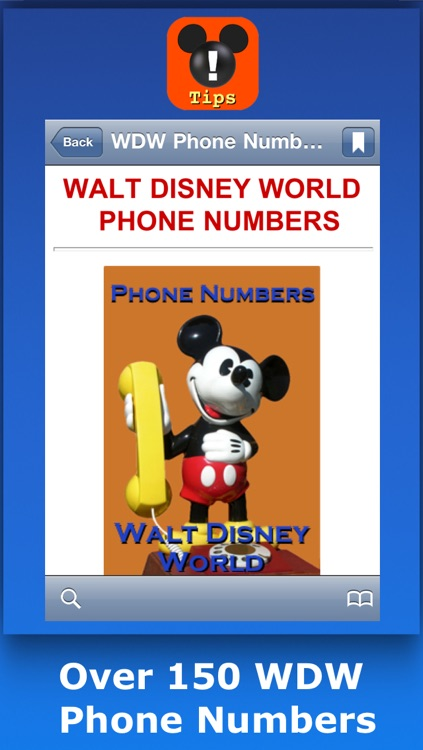 Walt Disney World Tips, Hints & Phone Numbers screenshot-3