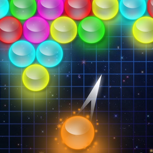 Bubble Shooter - Glow icon