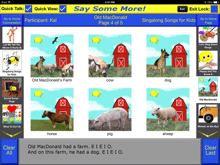 Say Some More AAC screenshot-4