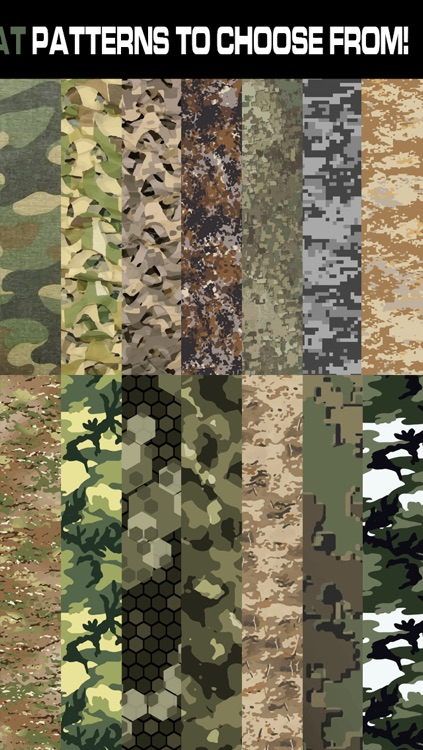 Combat Camouflage Wallpaper! - Tactical and Military Camo screenshot-3