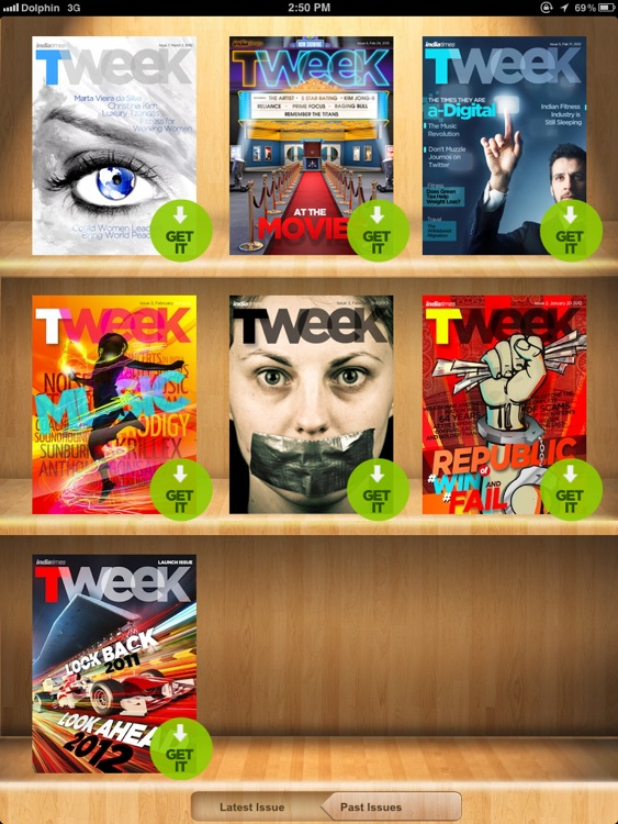 TWEEK for iPad screenshot-1