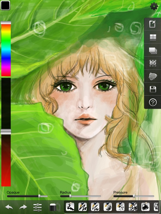 Ink Artist - Vector Draw, Paint, Sketch, Doodle with Natural Brushes screenshot-3