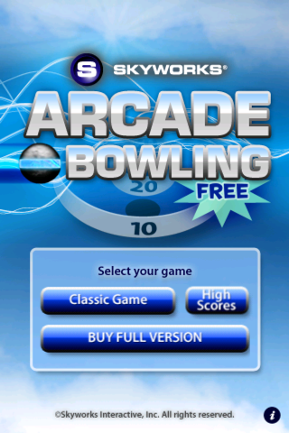 Arcade Bowling™ LITE screenshot one