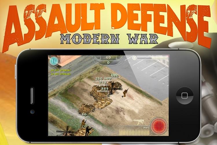 Assault Defense - Modern War