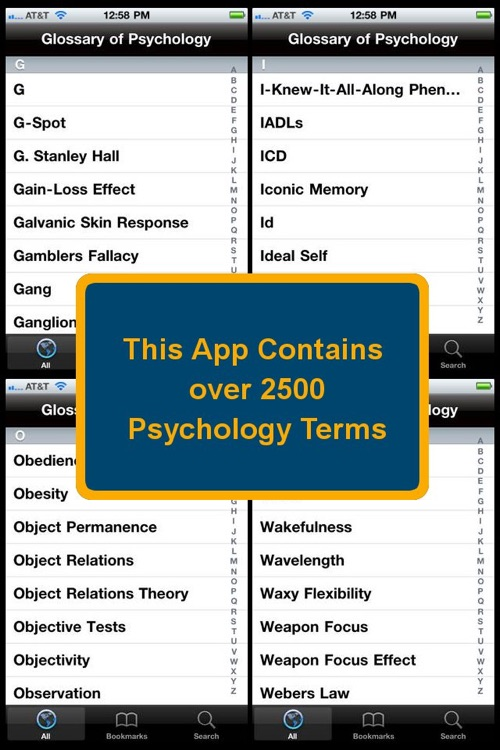Glossary of Psychology screenshot-3