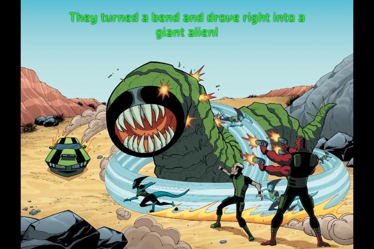 Ben 10 Triple Threat - Children's Book screenshot-3