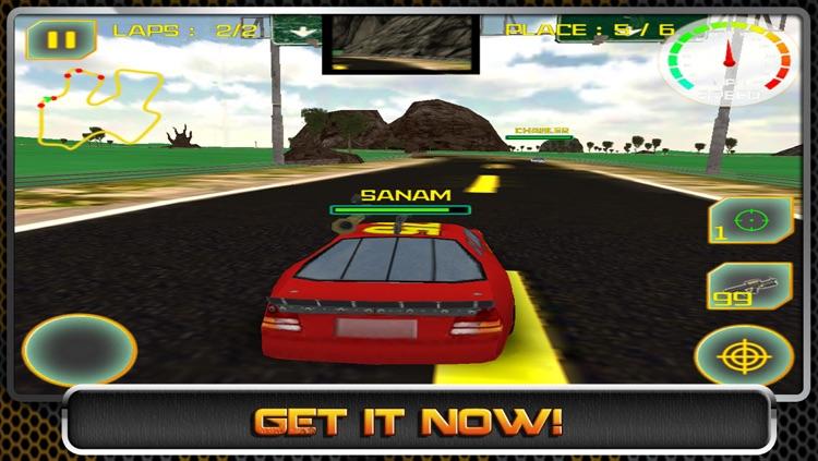 3D RAGING METAL - Stock Car Street Racing Games