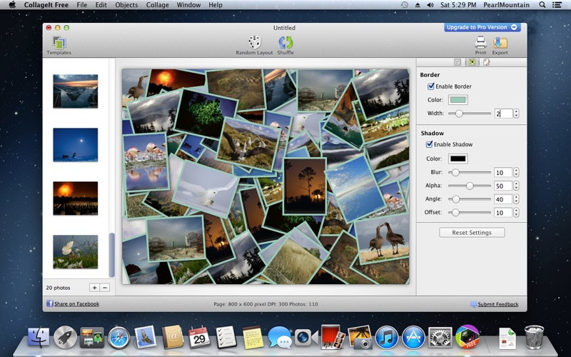 CollageIt Free Screenshot