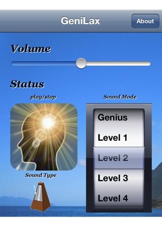 GeniLax Screenshot on iOS