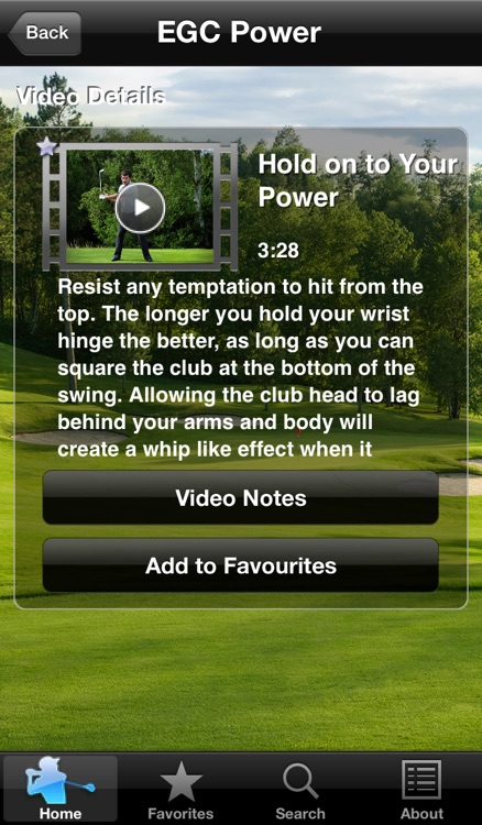 Everyday Golf Coach Power screenshot-3