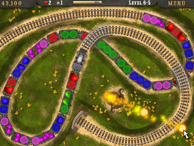 Loco Train HD screenshot-3