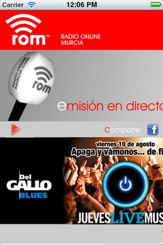 Radio Online Murcia screenshot 1