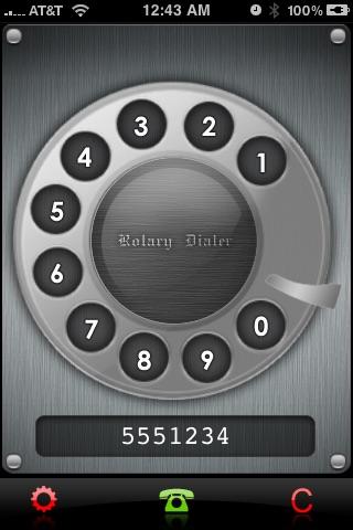 Rotary Dialer Screenshot 4