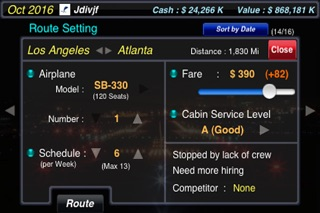 Screenshot #4 for AirTycoon - Airline Management