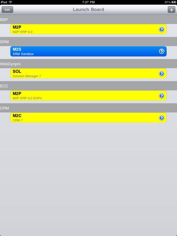 SAP Launcher