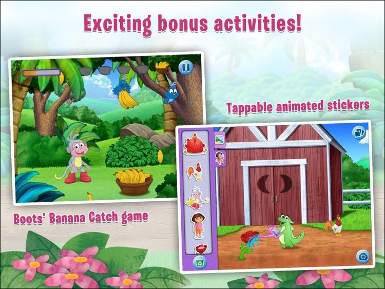 Dora the Explorer: Where is Boots? A hide and seek adventure! HD screenshot-3