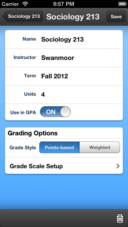 My Grades & Homework screenshot-2
