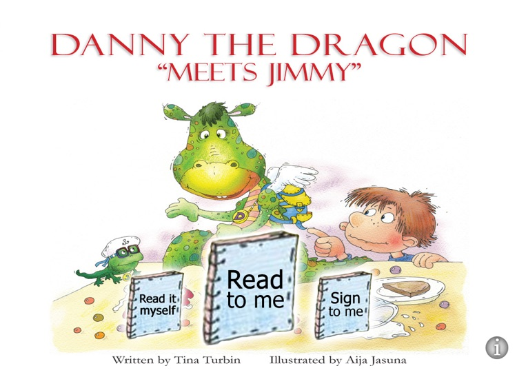 Danny The Dragon Meets Jimmy - HD Kids Book