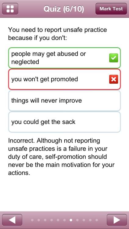Health and Social Care Diploma Level 2 Course Companion App screenshot-3