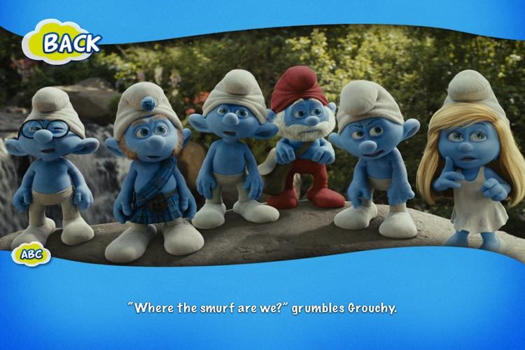 The Smurfs Movie Storybook - Children's Book