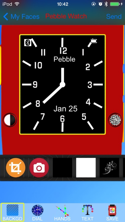 Pebble Faces Creator - Build and Create Unlimited Faces for Pebble SmartWatch screenshot-2
