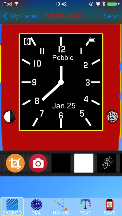 Pebble Faces Creator - Build and Create Unlimited Faces for Pebble SmartWatch