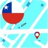 チリ オフライン地図