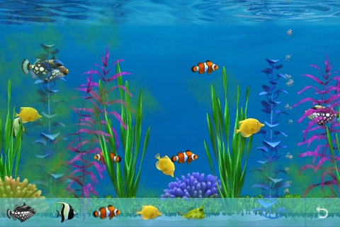 Colorful Aquarium Lite screenshot-3