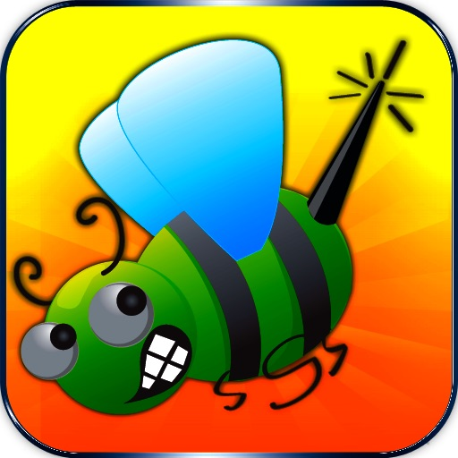 Attack Bugs and Save Man game- Easy free version