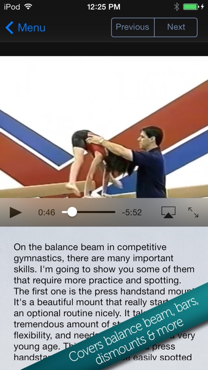 Learn Gymnastics: Advanced screenshot-1