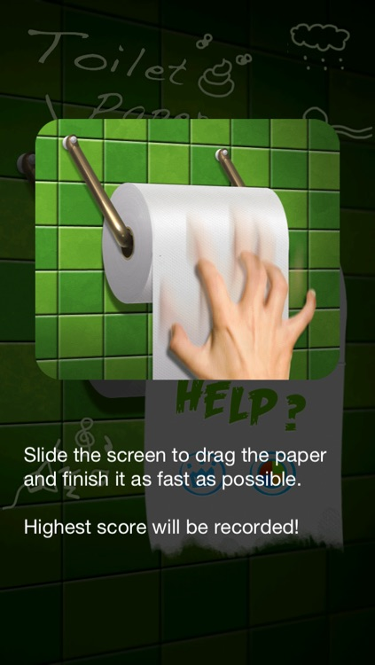 Toilet Paper Dragging screenshot-3