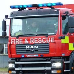 Firetrucks and Fire