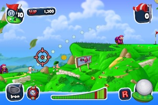 Worms Crazy Golf Screenshot 2