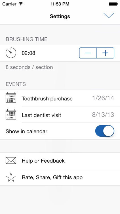 Brusher - The toothbrush timer screenshot-3