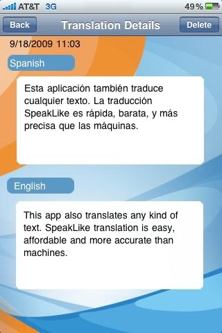 SpeakLike Photo TranslatorScreenshot von 3