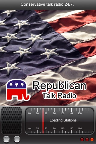 Republican News Radio FM - News From the Right screenshot-0