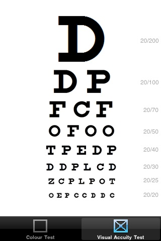 Eye Test Free Snellen Chart Ishihara Test By Claire Holmes