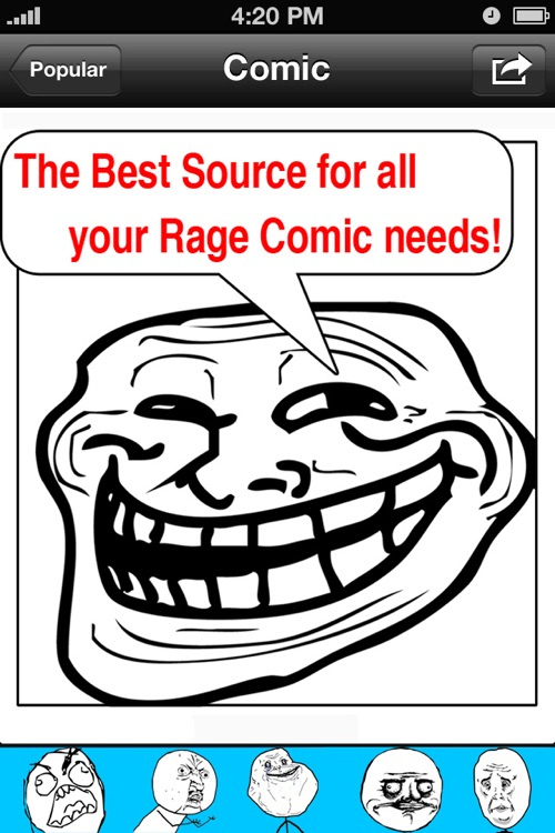 Rage Comics. screenshot-2