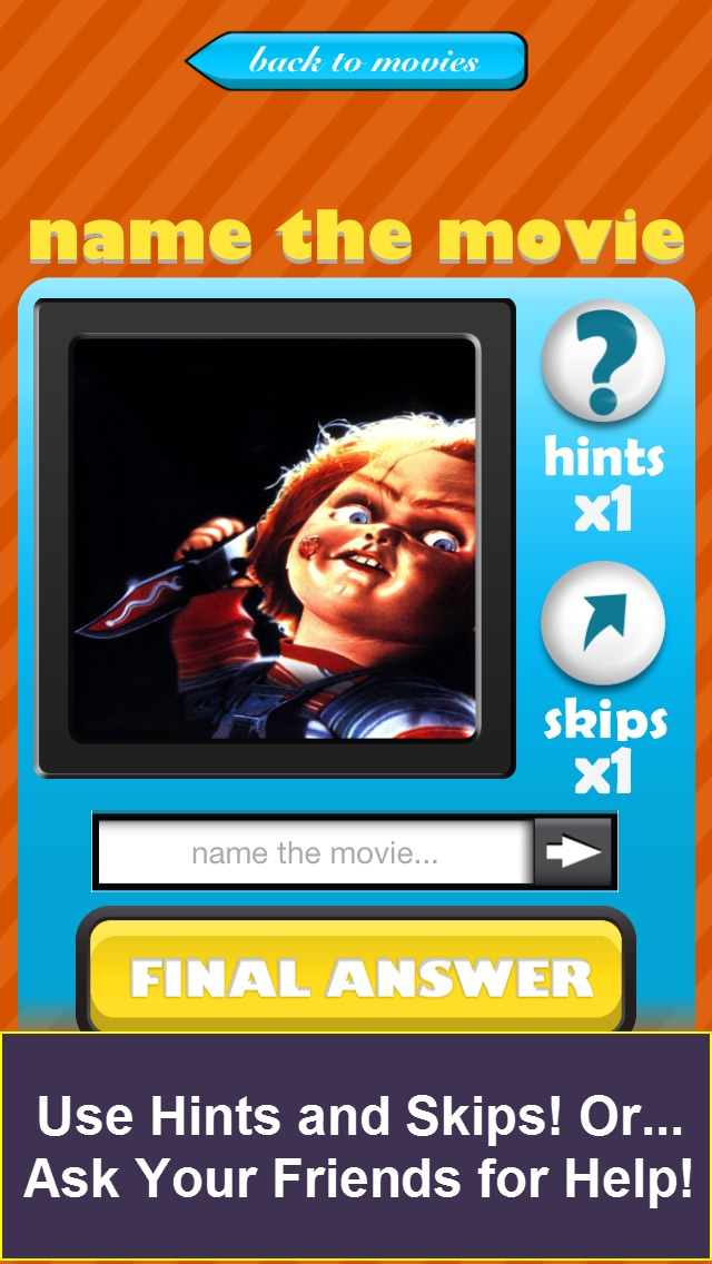 QuizCraze Halloween Movies - Trivia Game Quiz Screenshot