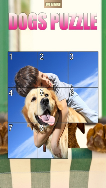 Dogs Puzzle HD