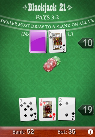Blackjack 21 screenshot1